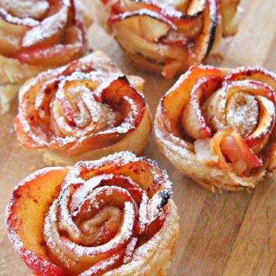 Make An Adorable Apple Roses Recipe