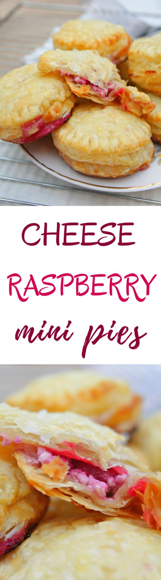 Mini raspberry pies
