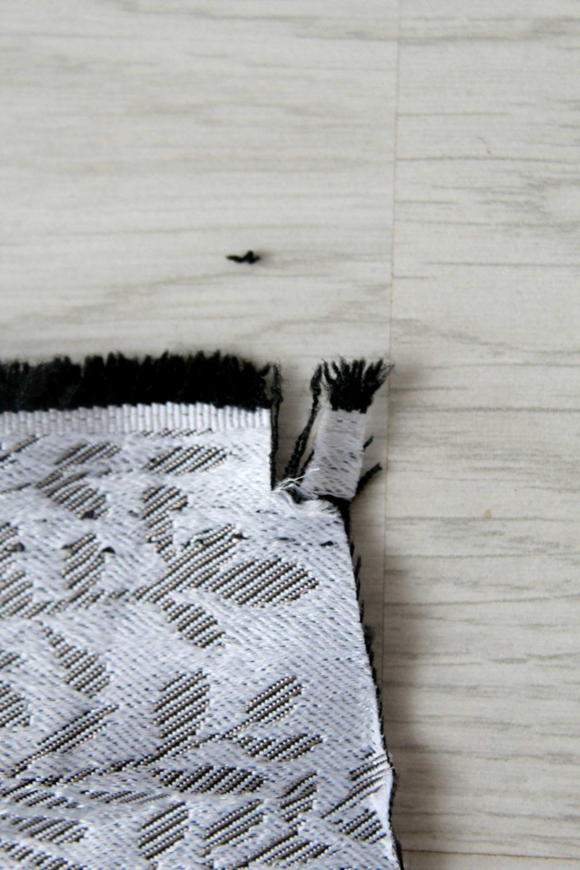 cutting fabric on grain