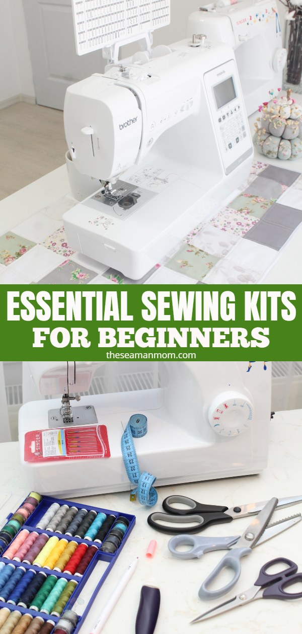 Are you aprospective or beginner sewist who often wonder what are the best sewing kits for beginners that would help you overcome any sewing problem? Check out this list of essential sewing equipment and tools to make up your perfect sewing starter kit! via @petroneagu