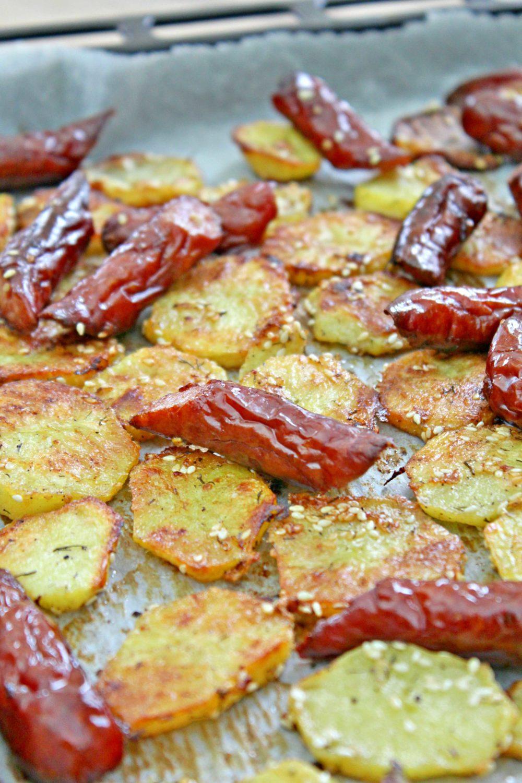potato and sausage bake