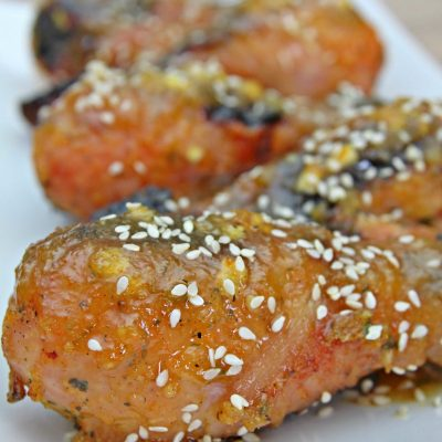 Baked Orange Chicken Drumsticks Recipe