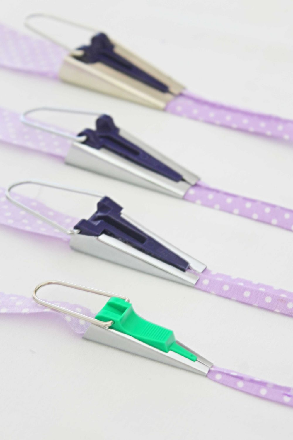 how to make bias tape with a bias tape maker