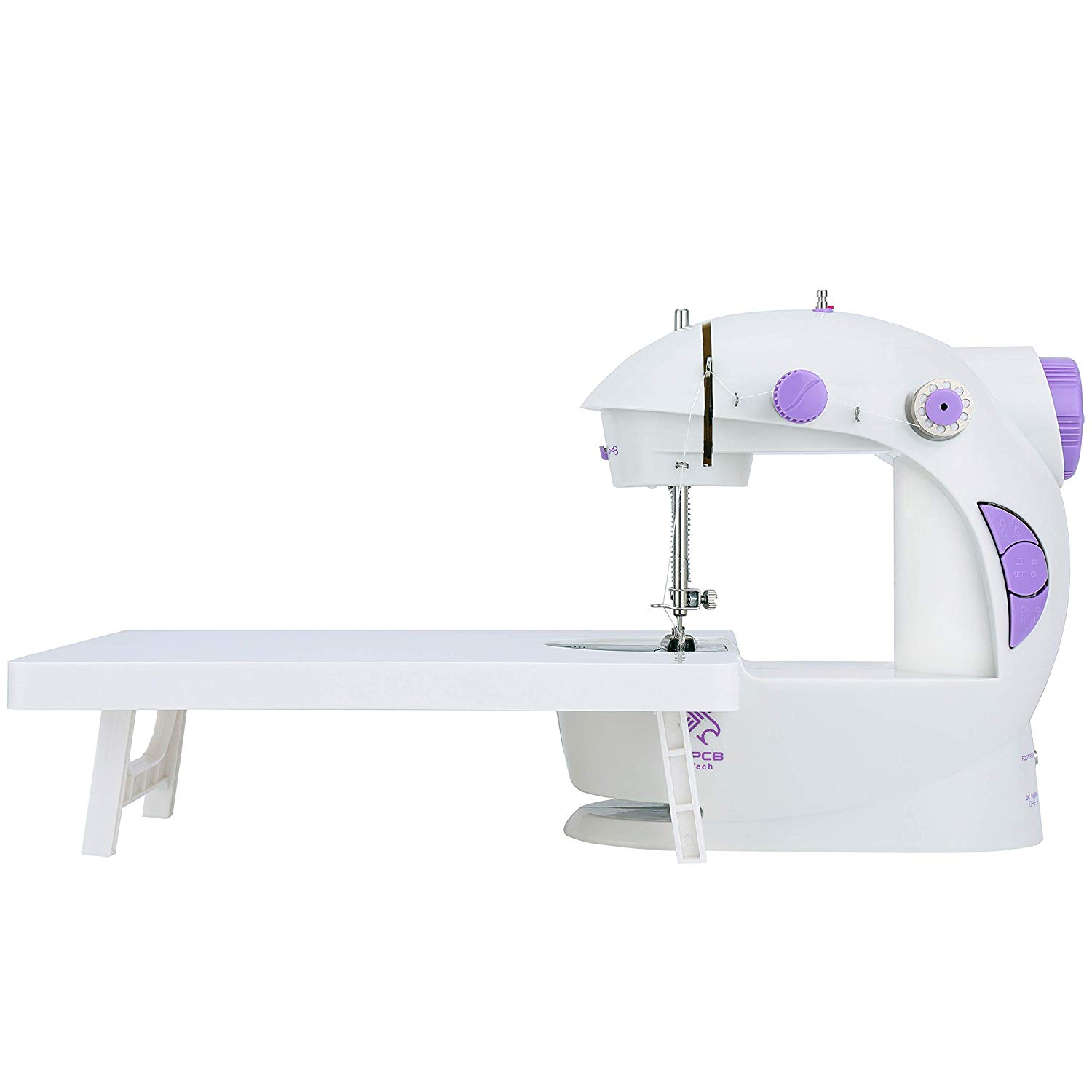 Mini sewing machine with table