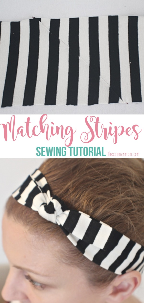 How to match stripes