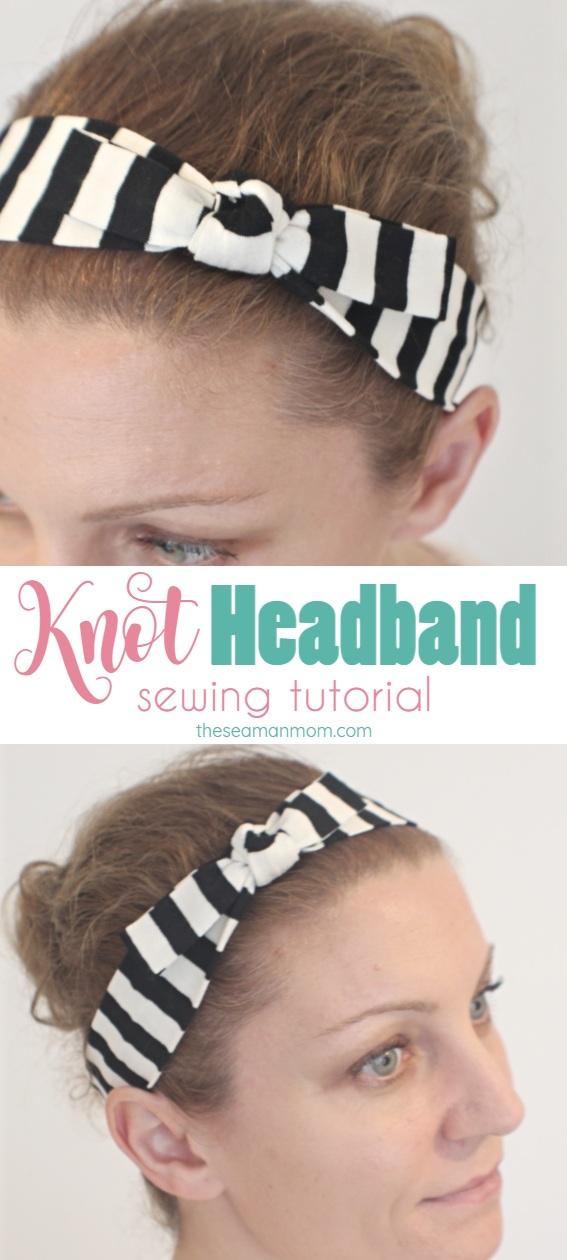 DIY knot headband