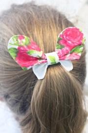 butterfly hair bows cute spring
