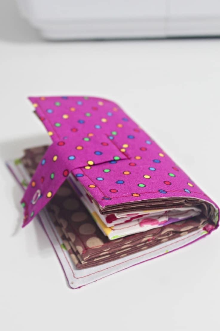 Fabric card holder
