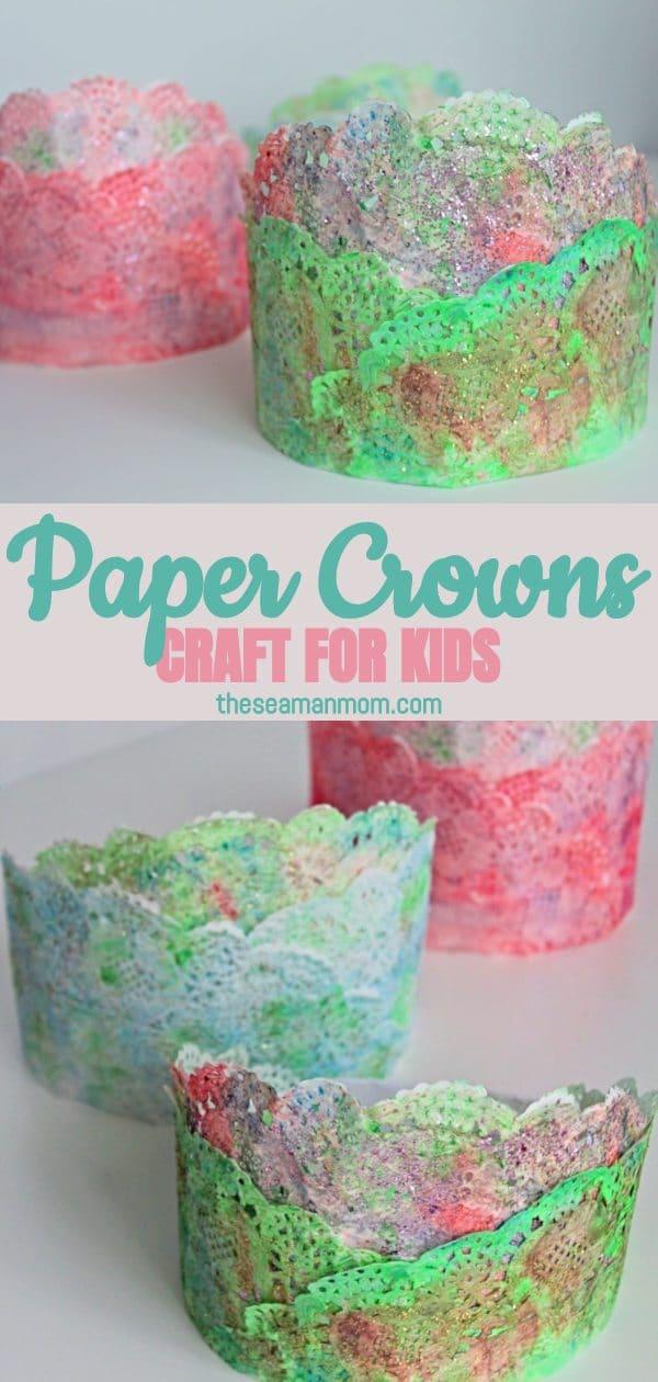 Paper crown craft