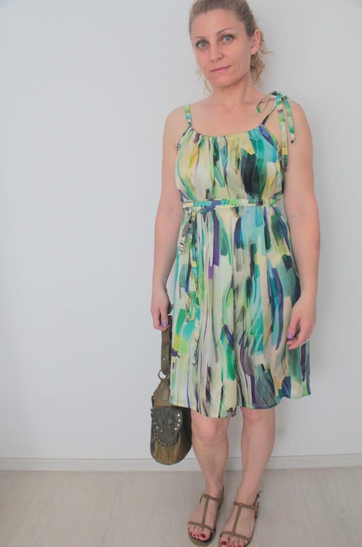 Dress pattern for ladies