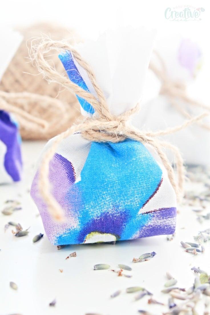 Sewing lavender bags