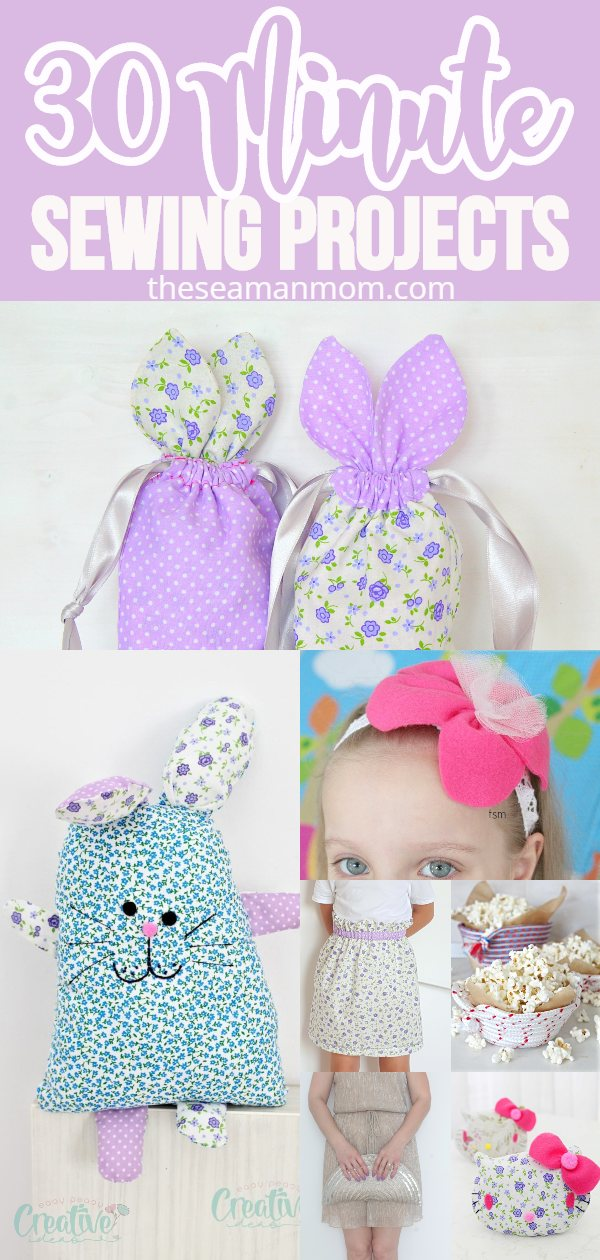 Easy quick sewing projects