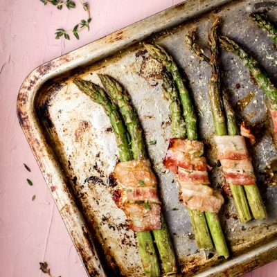 Super easy and elegant bacon wrapped asparagus recipe that everyone will love