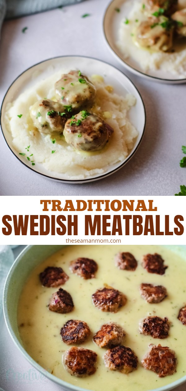 This is hands down the best Swedish meatballs recipe you'll find! Made the traditional way these easy Swedish meatballs use ingredients you probably already have on hand! via @petroneagu