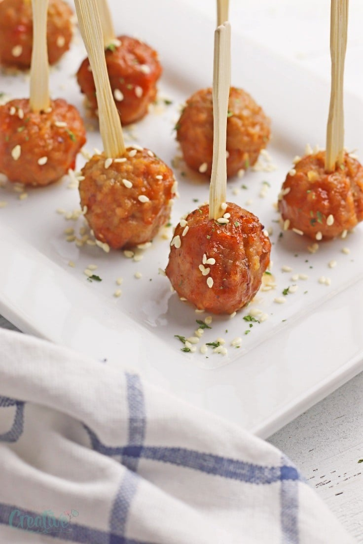Crock Pot Asian Meatballs