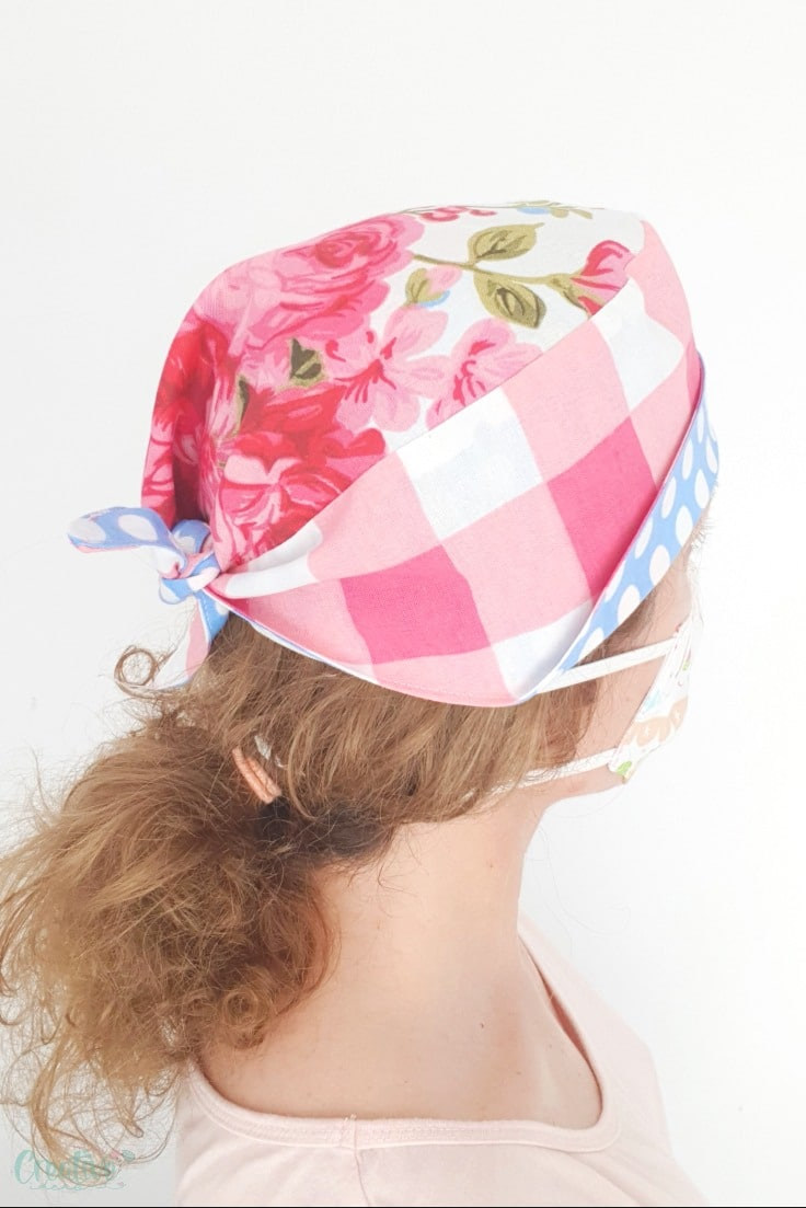 Surgical cap sewing pattern
