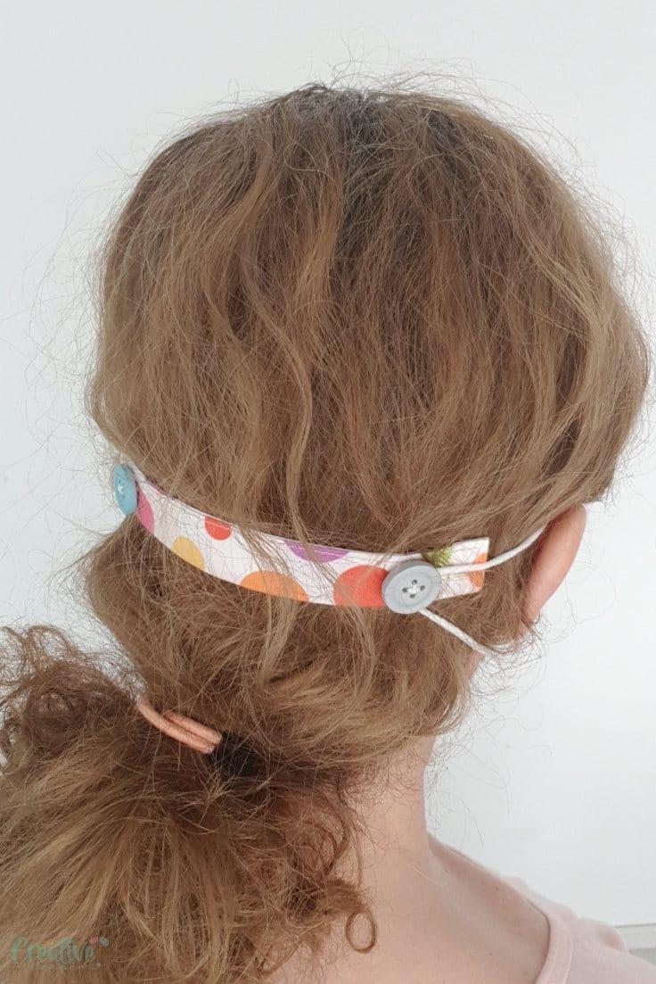 Face mask ear protector