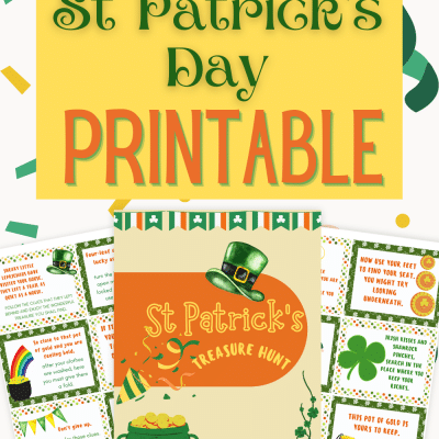 St Patrick's day treasure hunt printables
