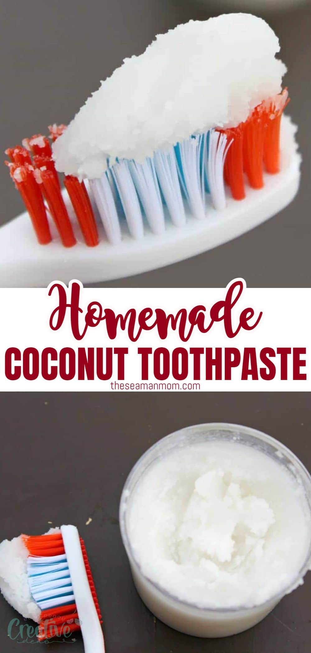 This homemade coconut oil toothpaste recipe is simple and fun to prepare and also much safer and healthier for your teeth. Perfect product to add to your selfcare and beauty arsenal if you're looking to lead a greener lifestyle! via @petroneagu