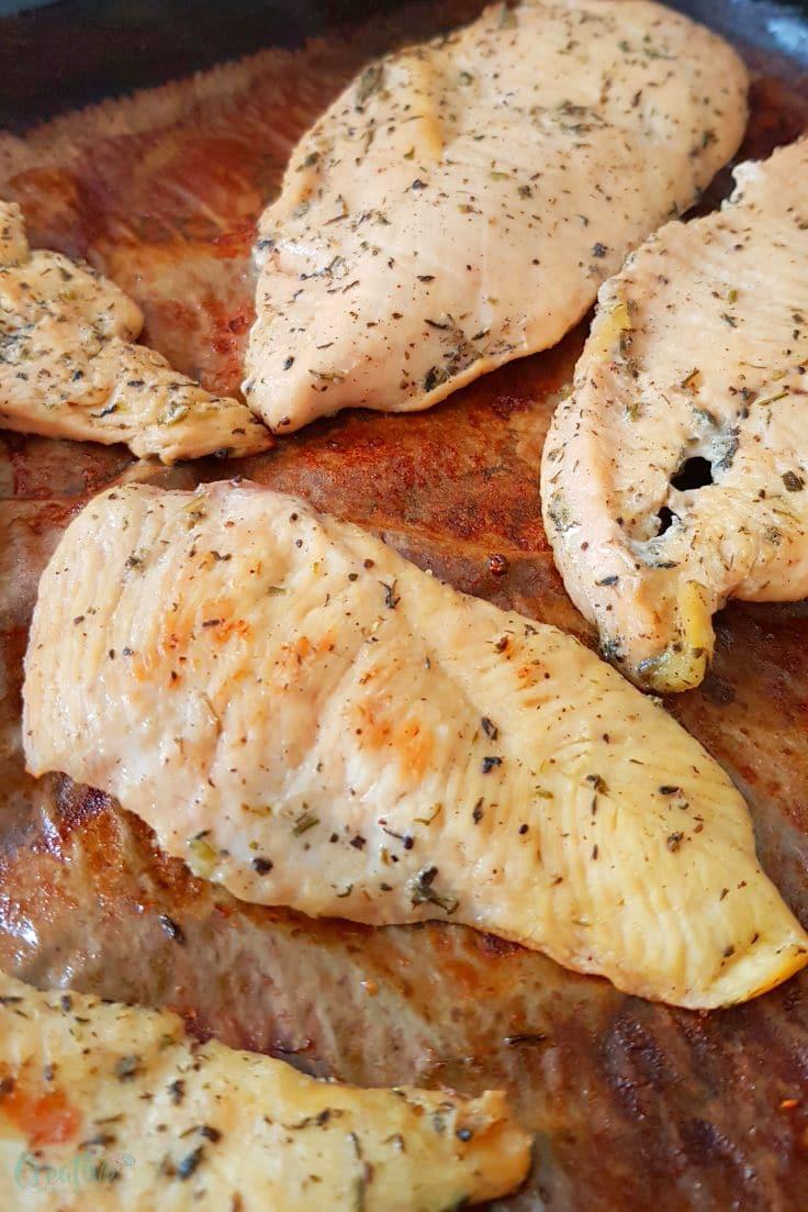 Lemon thyme chicken breast