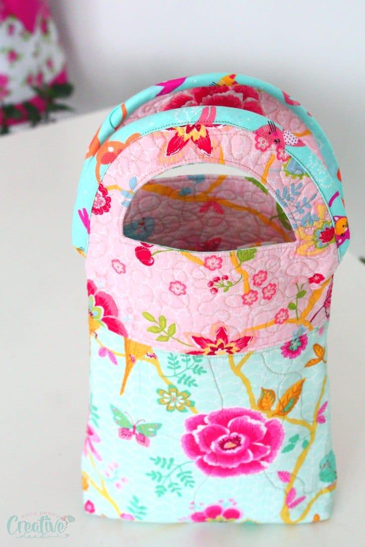 Quilted handbag pattern