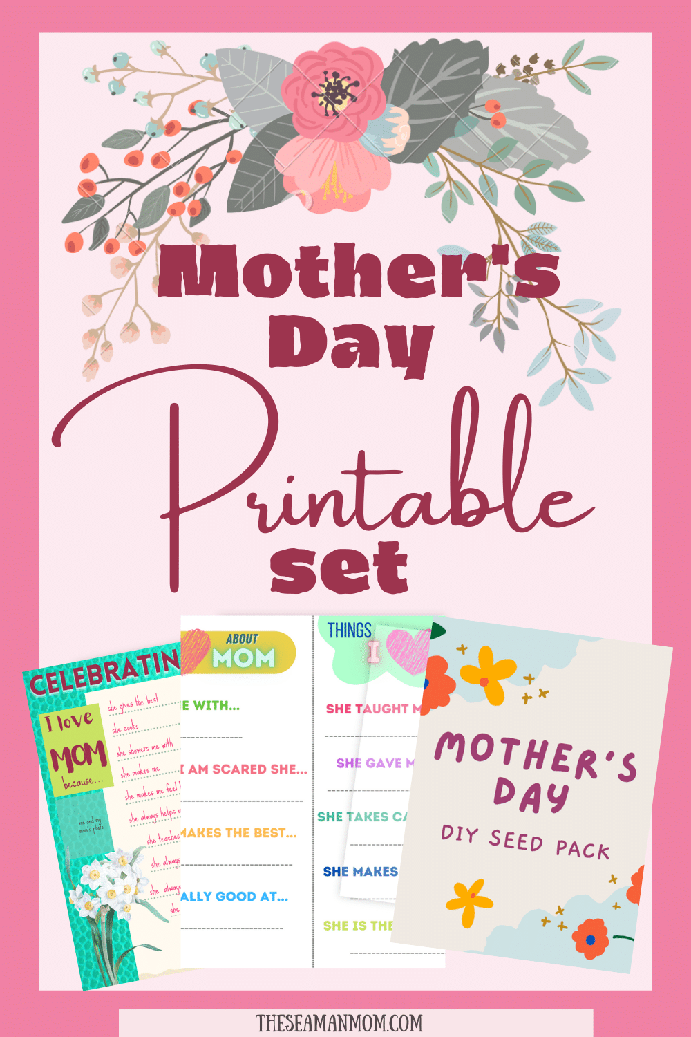 Printable Mother's day card
