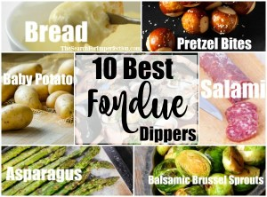 These are the 10 Best Fondue Dippers to bring to every fondue party