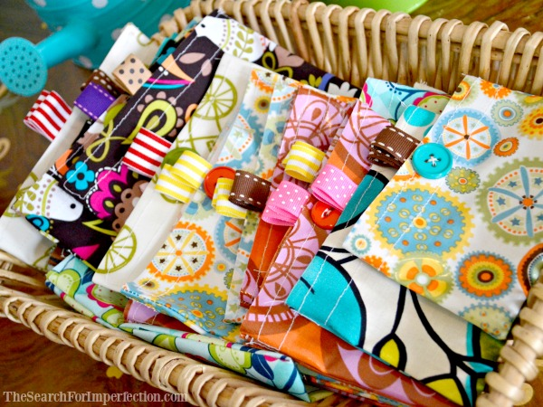 Easy Homemade Reusable Snack Bags – An Easy DIY Tutorial