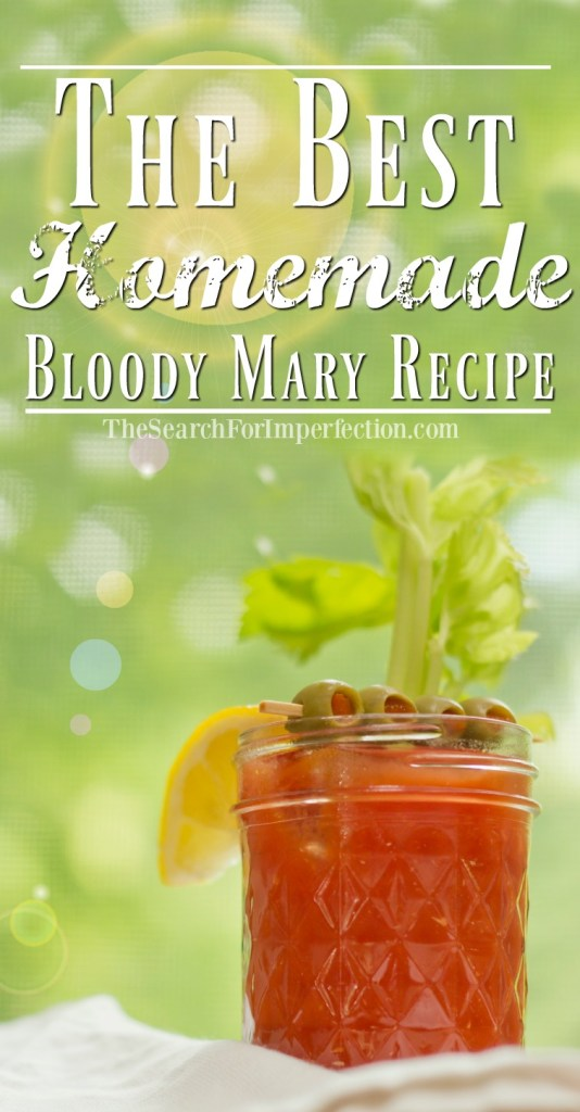 You need this homemade Bloody Mary at your next brunch!