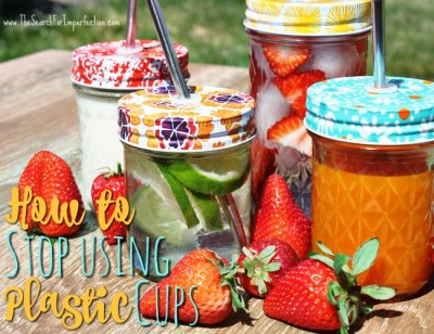 How To Stop Using Plastic Cups