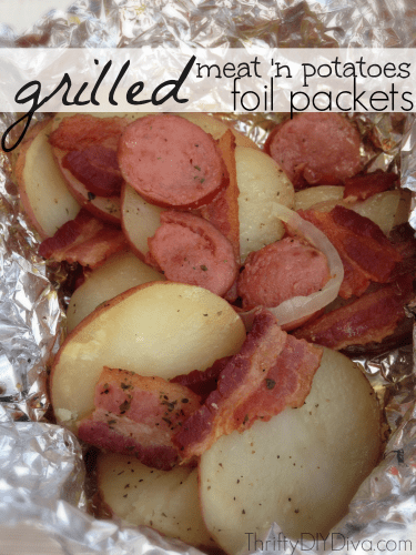 Grilled-meat-and-potatoes-foil-packets