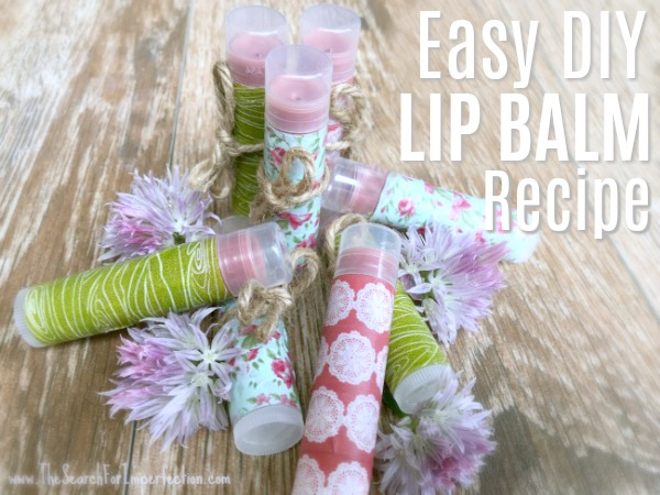 The Only DIY Lip Balm Recipe You'll Ever Need