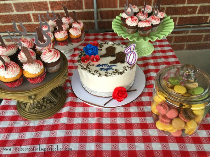 Western Party Dessert Table