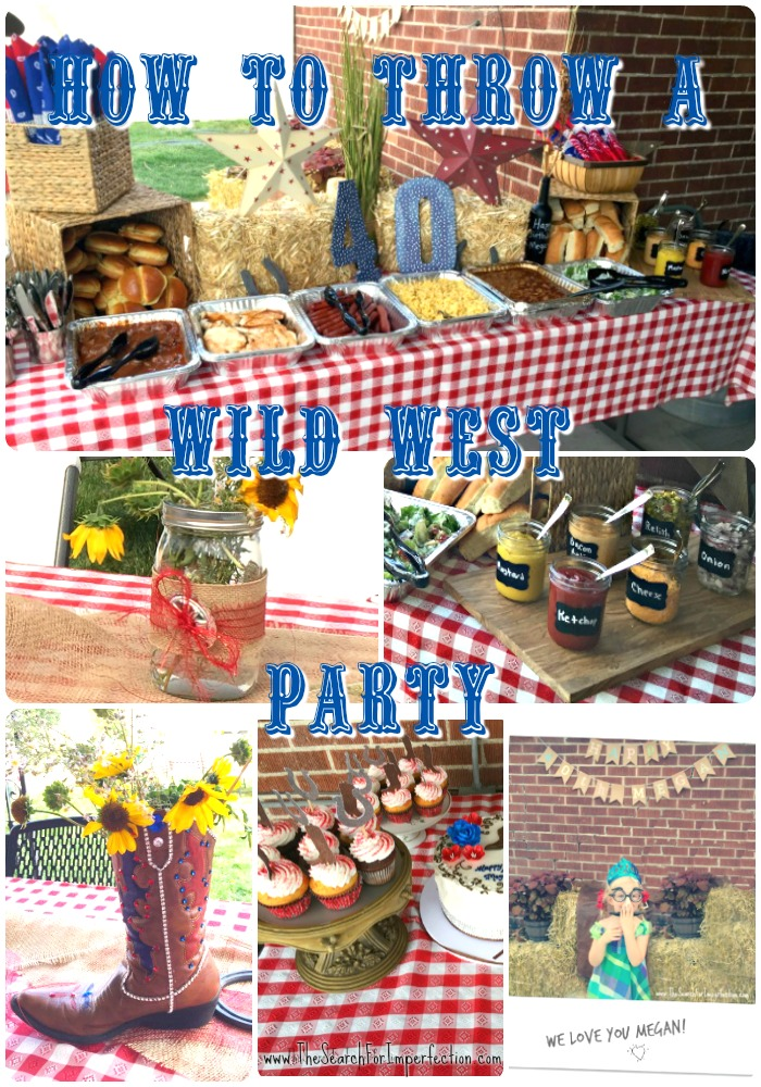 Wild West Birthday Party