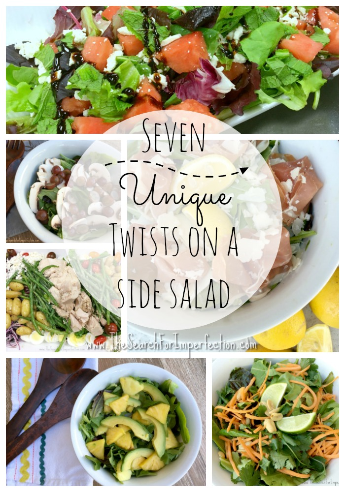 Seven Unique Twists on a Side Salad