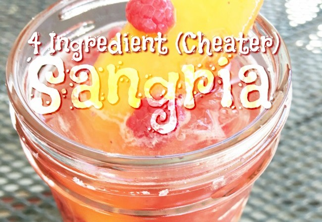 4 Ingredient Cheater Sangria