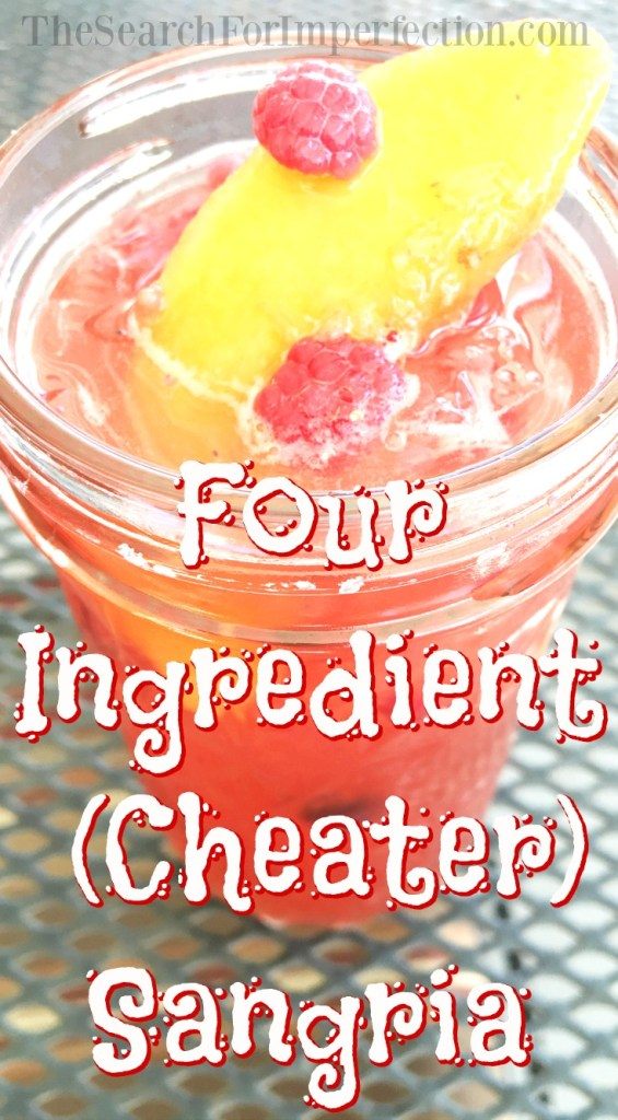 4 Ingredient (Cheater) Sangria