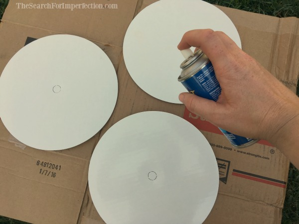 Glue the circles together