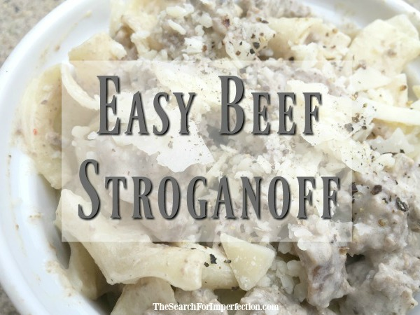 Easy and Delicious Beef Stroganoff Recipe