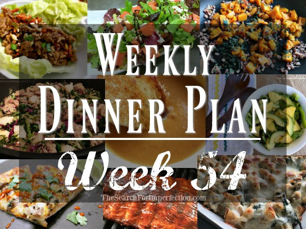 Weekly Dinner Plan #54 | 7 Nights of Dinner Ideas to Help You Eat at Home