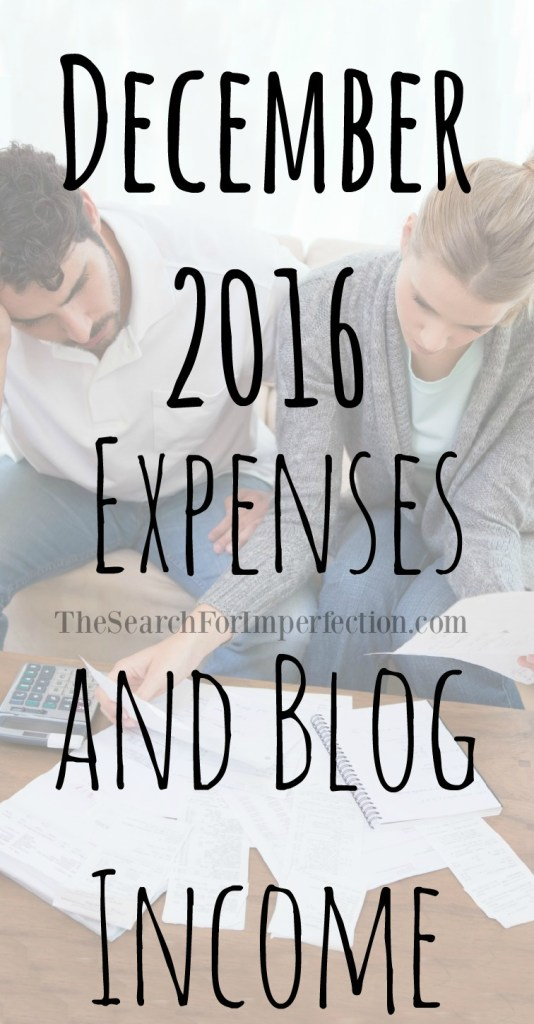 Check out what I spent and what I made on my blog in December.