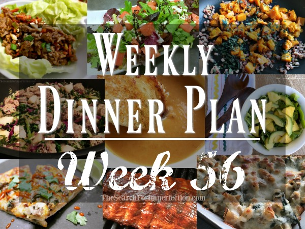 Weekly Dinner Meal Plan 56