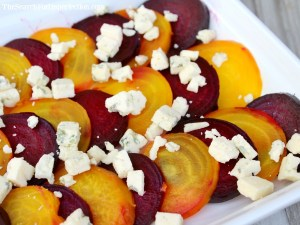 Roasted Gorgonzola Beets