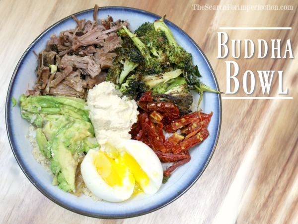 Steak and Egg Protein Buddha Bowl | Healthy, Easy, Delicious