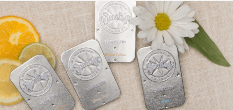 Scentsy Travel Tin