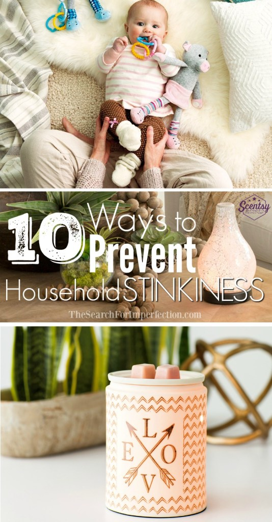 Check out these 10 ways to prevent household stinkiness!