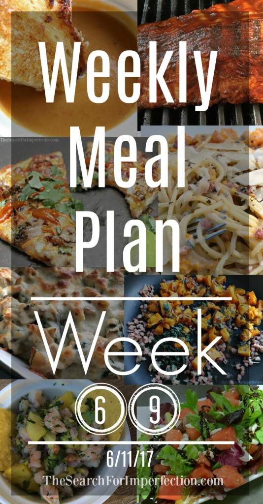 Lots of delicious Summer ideas on this week's meal plan!