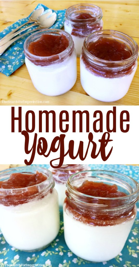 It's surprisingly easy to make homemade yogurt!