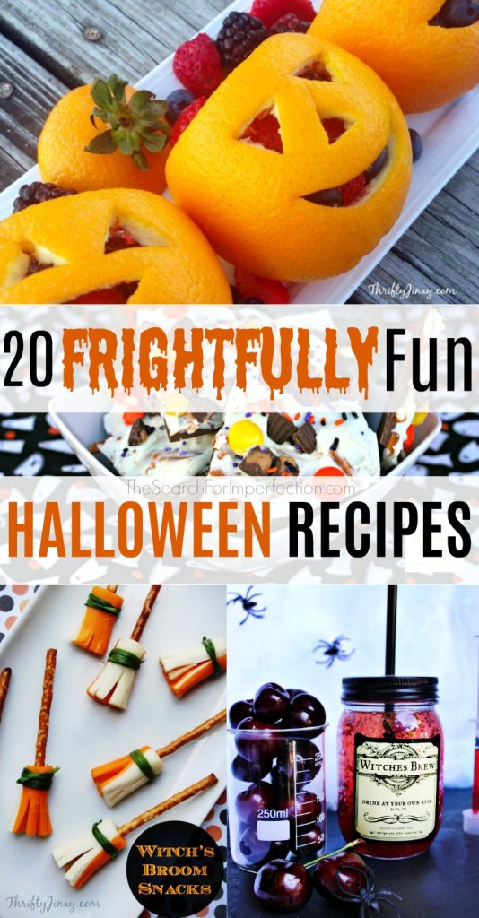 There's a little something for every party with these awesome 20 fun Halloween recipes!