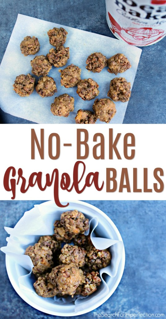 These no-bake granola balls are so delicious! #ad #bearnakedcustom
